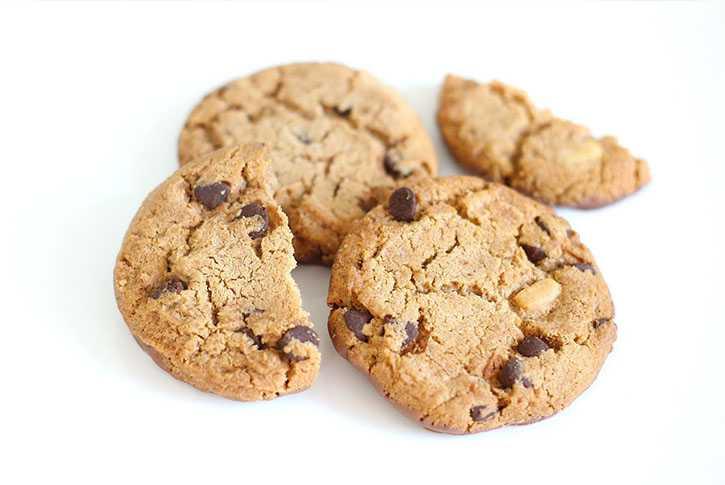 Cómo hacer cookies de chocolate. Receta microondas en 1 minuto